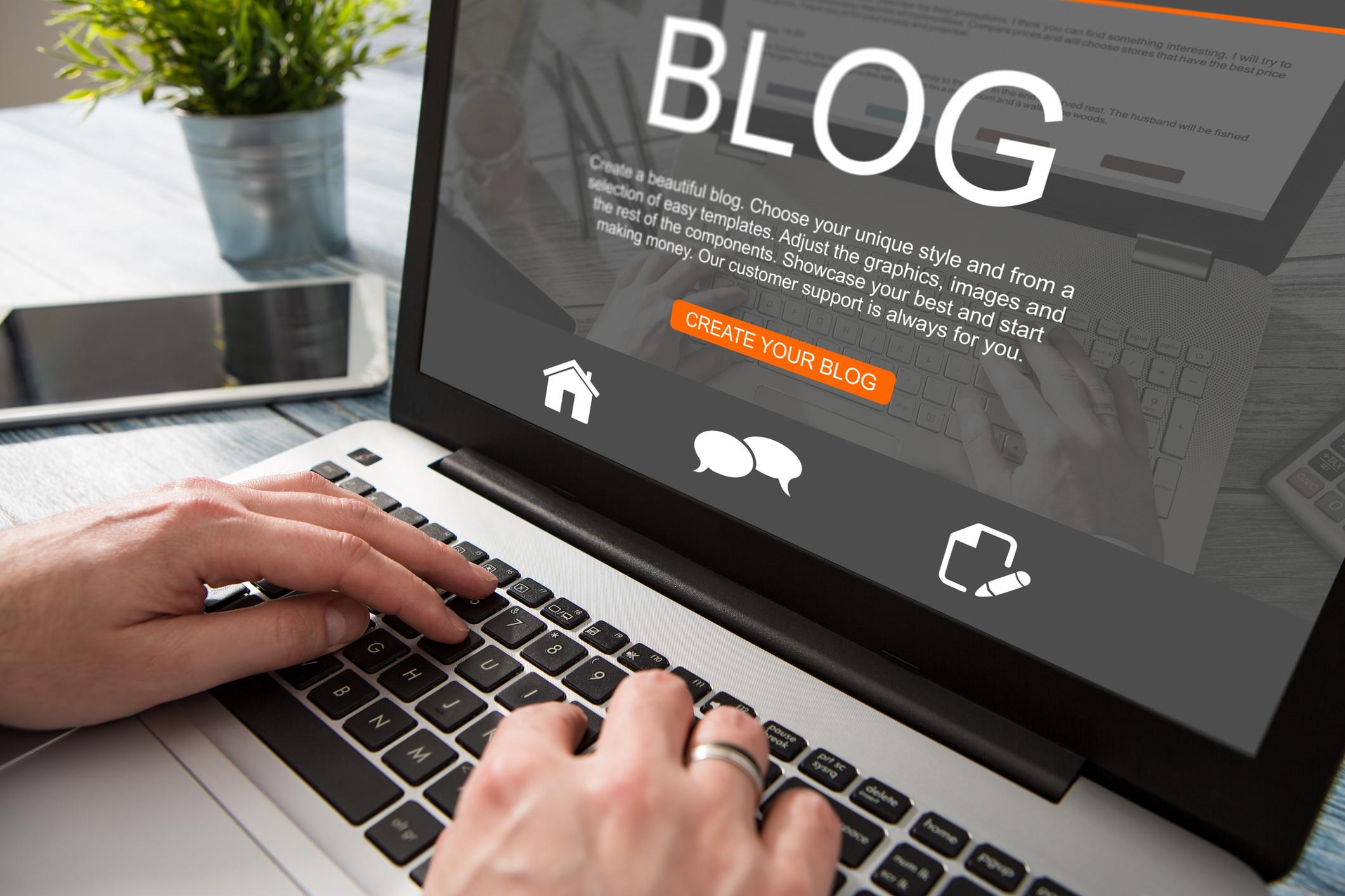 Bloggande som socialt kitt